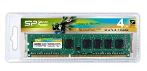 SILICON POWER Pamięć DDR3 Silicon Power 4GB 1600MHz (512*8) 8chips – CL11