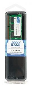 GOODRAM Pamięć DDR3 GOODRAM SODIMM 4GB/1333MHz PC3-10600 512×8