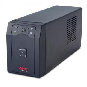 APC by Schneider Electric Zasilacz awaryjny UPS APC SC620I Smart-UPS SC 620VA, 230V, RS-232