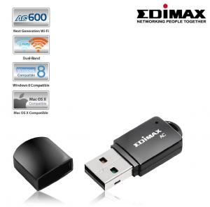 EDIMAX TECHNOLOGY Karta sieciowa Edimax EW-7811UTC USB WiFi AC600 Mini