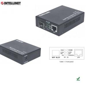 Intellinet Media konwerter Intellinet 10/100/1000Base-TX RJ45/SLOT SFP Mini GBIC