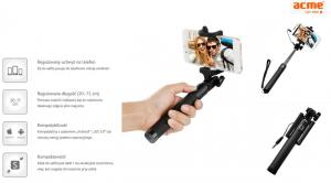 ACME EUROPE Monopod do smartfon Acme MH09 selfie stick
