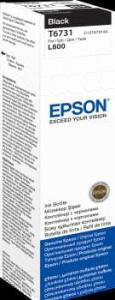 EPSON Atrament czarny w butelce 70 ml (T6731) do Epson L800/L850/L800/L850