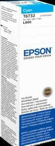 EPSON Atrament cyan w butelce 70 ml (T6732) do Epson L800/L850/L800/L850