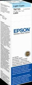 EPSON Atrament light cyan w butelce 70 ml (T6735) do Epson L800/L850/L800/L850
