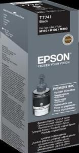 EPSON Tusz Epson Black 140 ml (T7741) do WorkForce M100/105/200