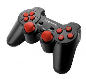"ESPERANZA Gamepad PS3/PC USB Esperanza ""Trooper"" czarno/czerwony"