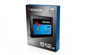ADATA Dysk SSD ADATA Ultimate SU800 512GB 2.5'' SATA3 (560/520 MB/s) 7mm 3D TLC