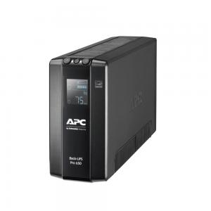 APC by Schneider Electric Zasilacz awaryjny UPS APC BR650MI Back UPS Pro BR 650VA, 6 Outlets, AVR, LCD Interface