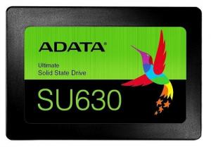 "ADATA Dysk SSD ADATA Ultimate SU630 960GB 2,5"" SATA3 (520/450 MB/s) 7mm, 3D QLC / Black Retail"