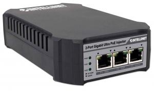 Intellinet Zasilacz Ultra PoE Intellinet Gigabit Ethernet 1x RJ45 30W + 1x RJ45 50W 802.3af/at