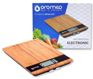 OROMED Waga kuchenna OROMED ORO-KITCHEN SCALE BLACK