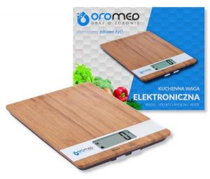 OROMED Waga kuchenna OROMED ORO-KITCHEN SCALE WHITE