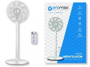 Wentylator stojący OROMED ORO-ELECTRIC FAN WHITE