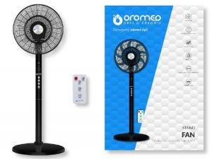 Wentylator stojący OROMED ORO-ELECTRIC FAN BLACK