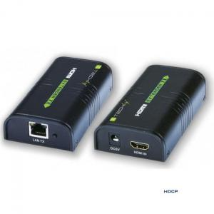 Techly Extender / splitter HDMI Techly IDATA EXTIP-373 po skrętce Cat. 5e/6/6a/7 do 120m, over IP, czarny