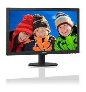 "PHILIPS Monitor Philips 21,5"" 223V5LHSB/00 HDMI"