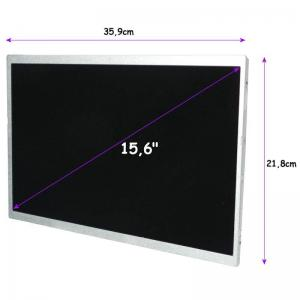 "Qoltec Matryca LED Qoltec 15.6"" 1366*768 GLOSSY Slim - 40Pin"