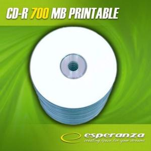 ESPERANZA CD-R Esperanza 56x 700MB (Spindle 100) Printable