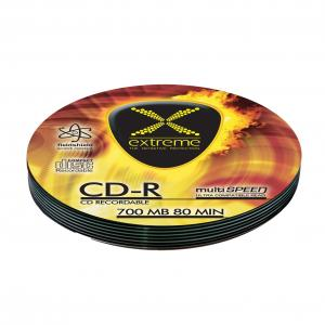 Extreme CD-R Extreme 56x 700MB (Soft Pack 10) Silver