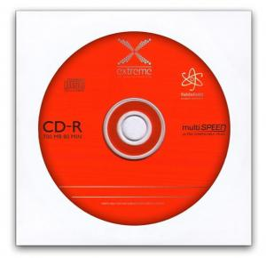 Extreme CD-R Extreme 56x 700MB (Koperta 1) Silver