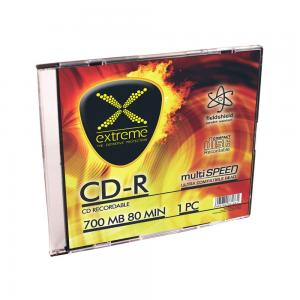 Extreme CD-R Extreme 56x 700MB (Slim 1) Silver