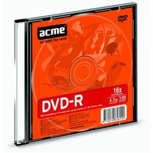 ACME EUROPE DVD-R Acme 4.7GB 16X slim box