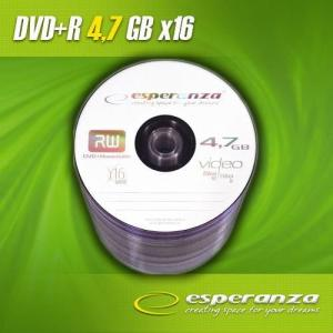 ESPERANZA DVD+R Esperanza 16x 4,7GB (Spindle 100)